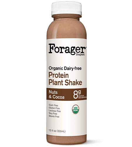 Forager Project Organic NUts & Cocoa Plant-Based Protein shake