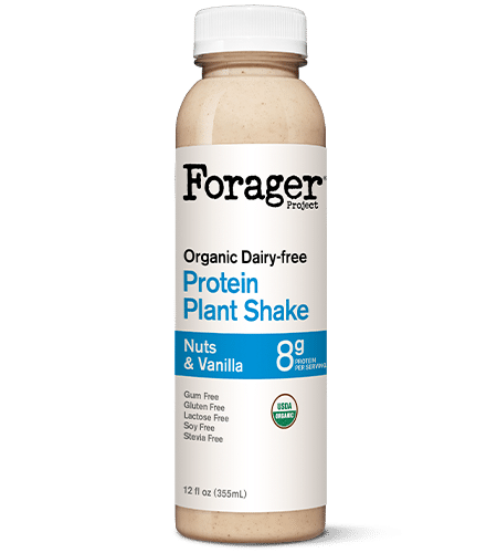 Forager Project Nuts & Vanilla Plant-Based Protein Shake
