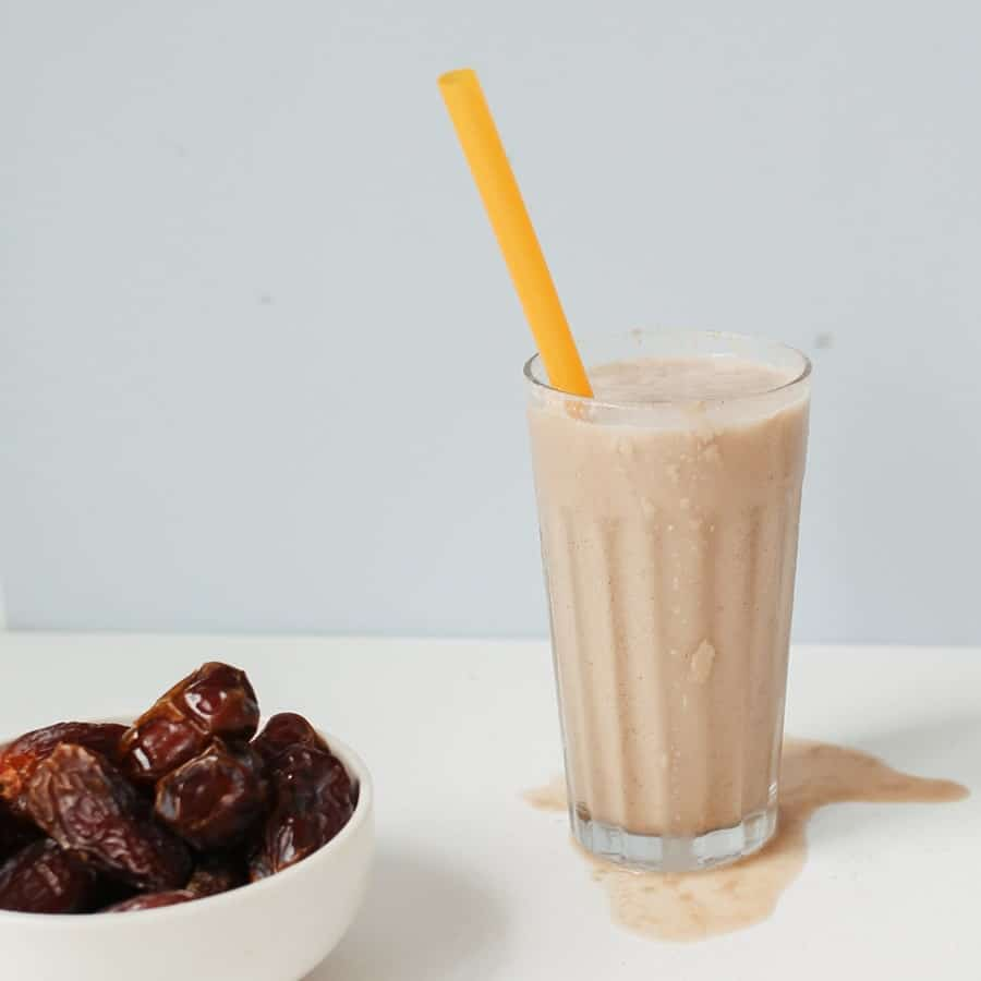 Salted Caramel Date Smoothie