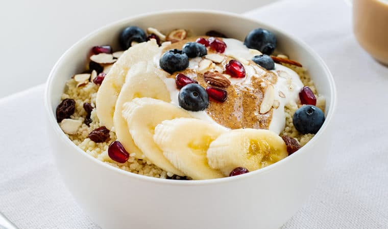 Couscous with Yogurt & Fruit