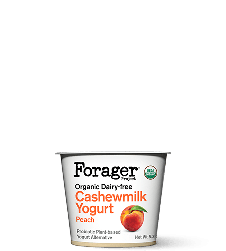 Organic Peach Cashewmilk Yogurt